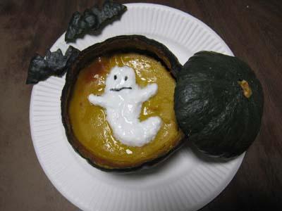かぼちゃプリン