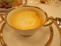 伊勢海老のクリームスープ