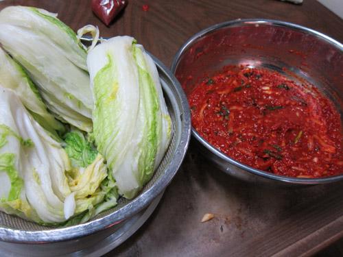 白菜とキムチの素