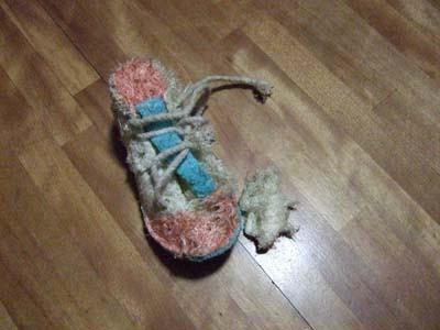 ヘチマの靴